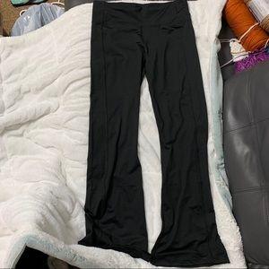 Black workout pants